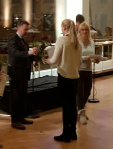 Medaljkaffe på Konserthuset i Åbo